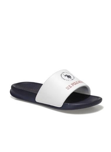 U.S. Polo Assn. Erkek Terlik Pearl 101018693 Beyaz